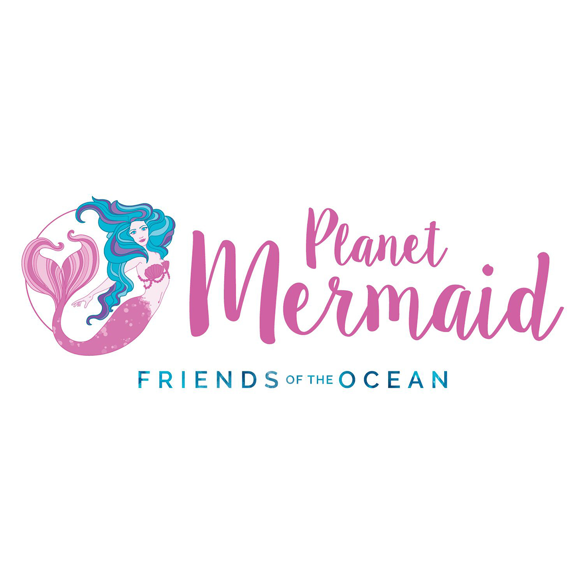 Planet Mermaid Logo